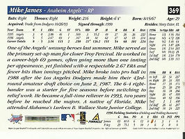 Score Mike James