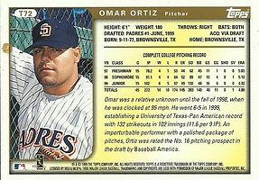 Topps Omar Ortiz