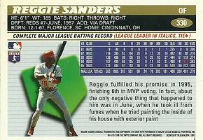 Topps Reggie Sanders