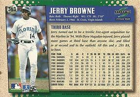 Score Jerry Browne