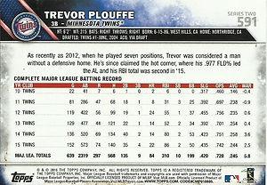 Topps Trevor Plouffe