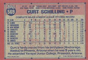 Topps Curt Schilling