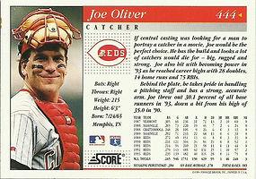 Score Joe Oliver