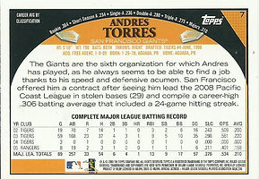 Topps Andres Torres