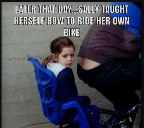 Sally was the only kid actually HAPPY to hear Dad threatening to get his belt.