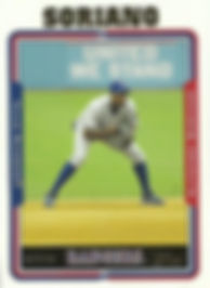Topps Alfonso Soriano
