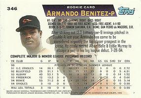 Topps Armando Benitez