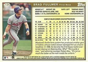 Topps Brad Fullmer