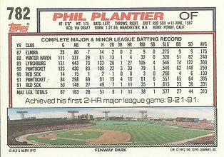 Topps Phil Plantier