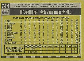 Topps Kelly Mann
