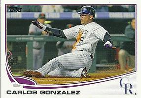 Topps Carlos Gonzalez