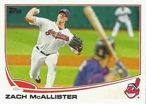 2013 Topps Zach McAllister