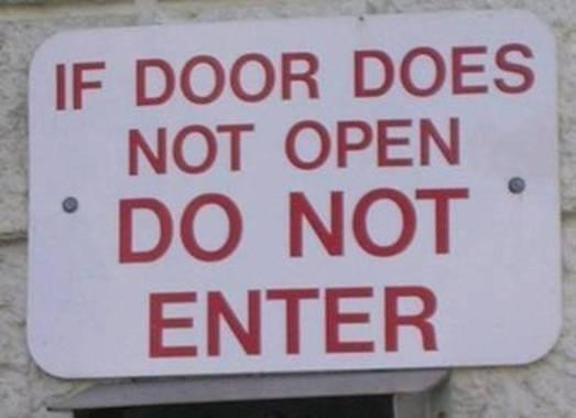 So what you're saying is, DON'T liquify and go underneath the door?