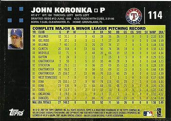 Topps John Koronka