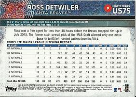 Topps Ross Detwiler