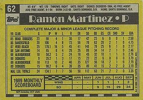 Topps Ramon Martinez