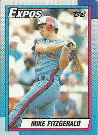 Topps Mike Fitzgerald