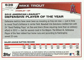 Topps Mike Trout