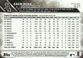 Topps Zach Duke