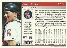 Score Greg Myers