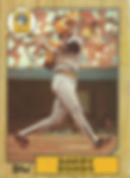 Barry Bonds Topps