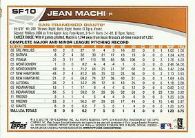 Topps Jean Machi