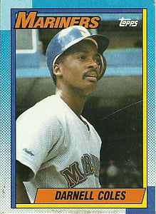 Topps Darnell Coles