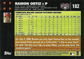 Topps Ramon Ortiz