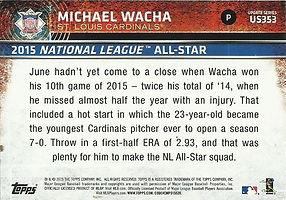 Topps Michael Wacha