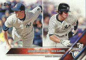 Topps Johnny Barbato, Ben Gamel