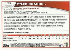Topps Tyler Skaggs