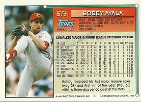 Topps Bobby Ayala