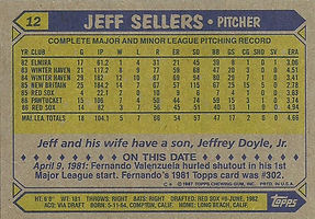 Topps Jeff Sellers