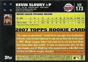 Topps Kevin Slowey