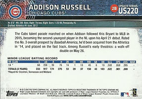 Topps Addison Russell