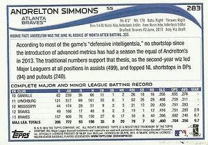 Topps Andrelton Simmons