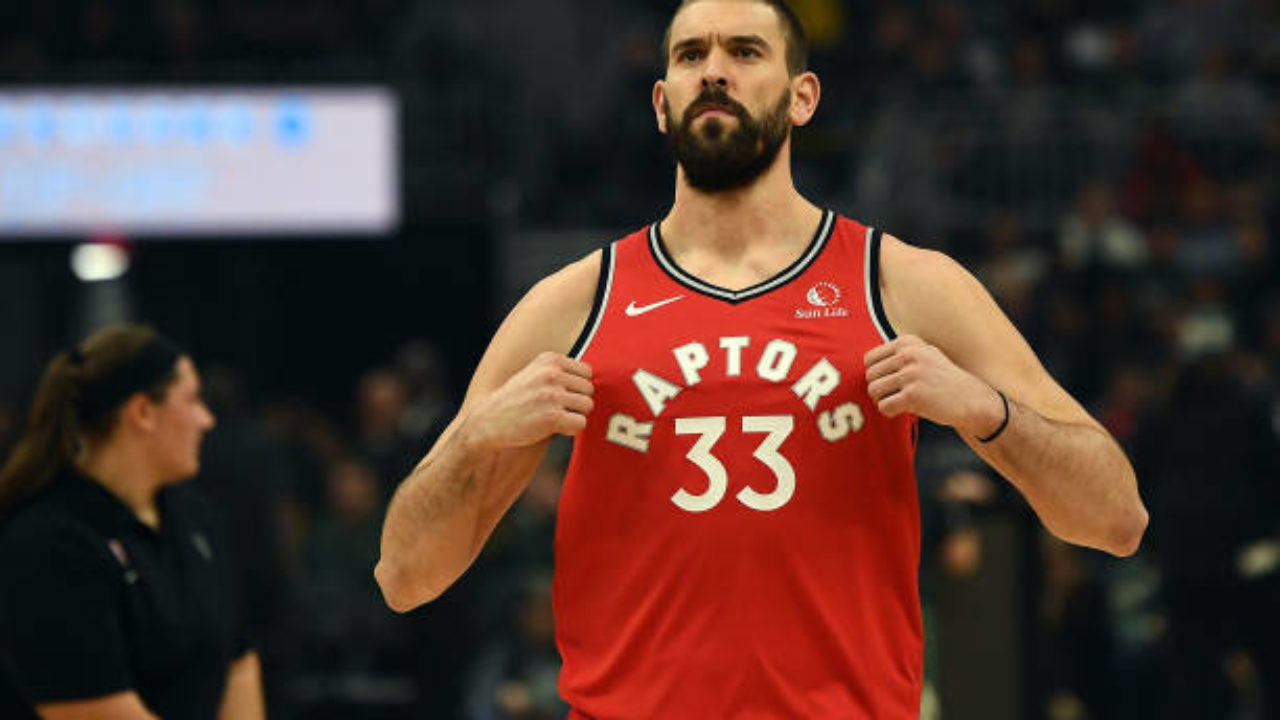 Marc Gasol, Raptors to Lakers