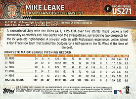 Topps Mike Leake