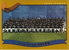2002 Topps New York Mets