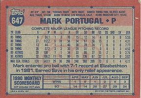 Topps Mark Portugal