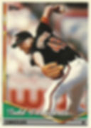 Topps Todd Frohwirth