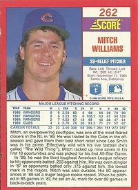 Score Mitch Williams