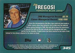 Jim Fregosi Topps
