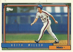 Topps Keith Miller