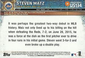 Topps Steven Matz