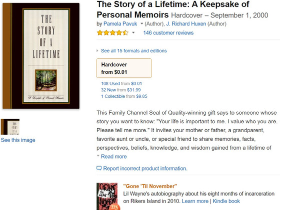"""""""Grandpa, didn't you say you wanted one of these books?"""""""