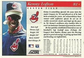 Score Kenny Lofton