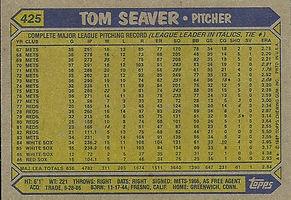 Topps Tom Seaver