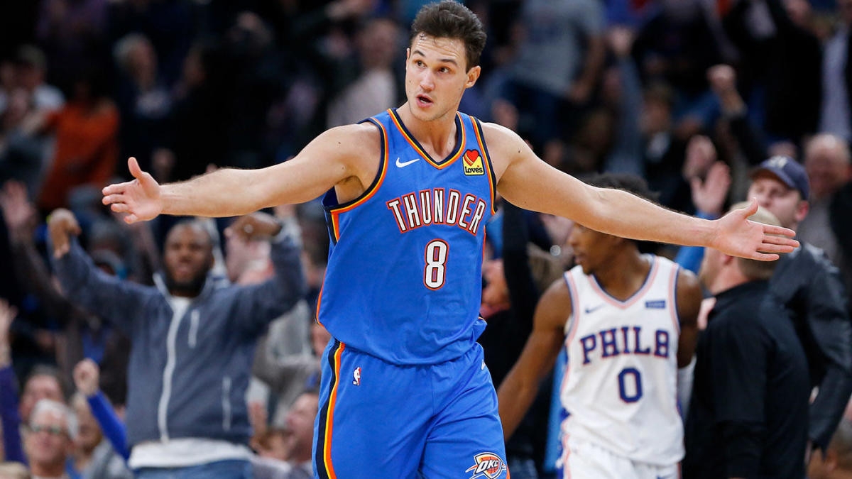 Danilo Gallinari, Thunder to Hawks
