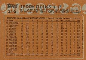 Topps Jerry Reuss